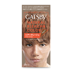 GATSBY ナチュラルブリーチカラー シアーグレージュ