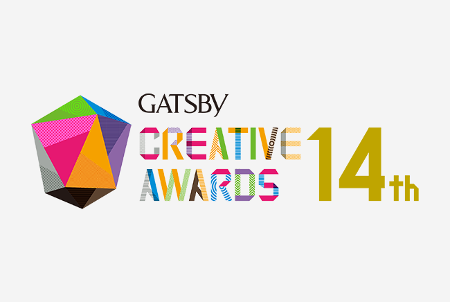 GATSBY<br>CREATIVE AWARDS 14th